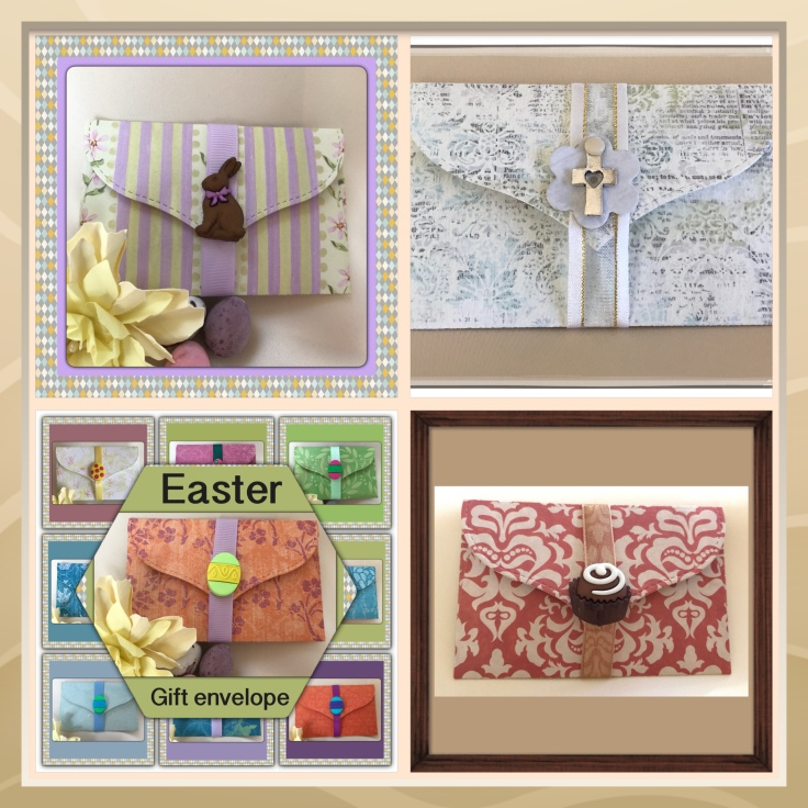 Easter cards baskets and guft envelopes oh how lovely gifts i think that with rabbits chocolates spring flowers easter eggs and christian crosses i have most ideas covered negle Image collections